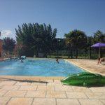 La piscine des gîtes